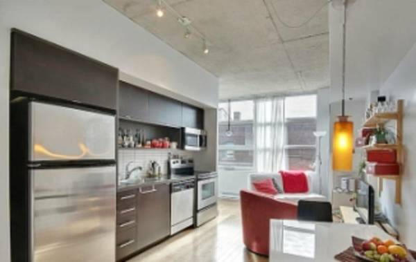 630 Rue William MANHATTAN STYLE BEAUTIFUL LOFT IN OLD PORT MONTREAL FURNISHED